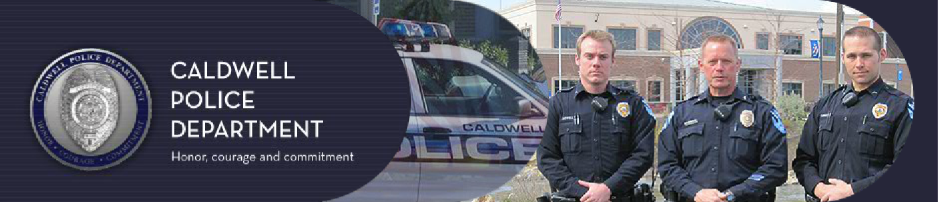Caldwell Police Banner