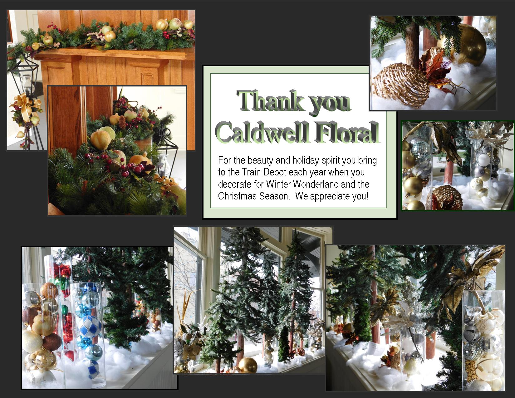 Caldwell Floral thank you image