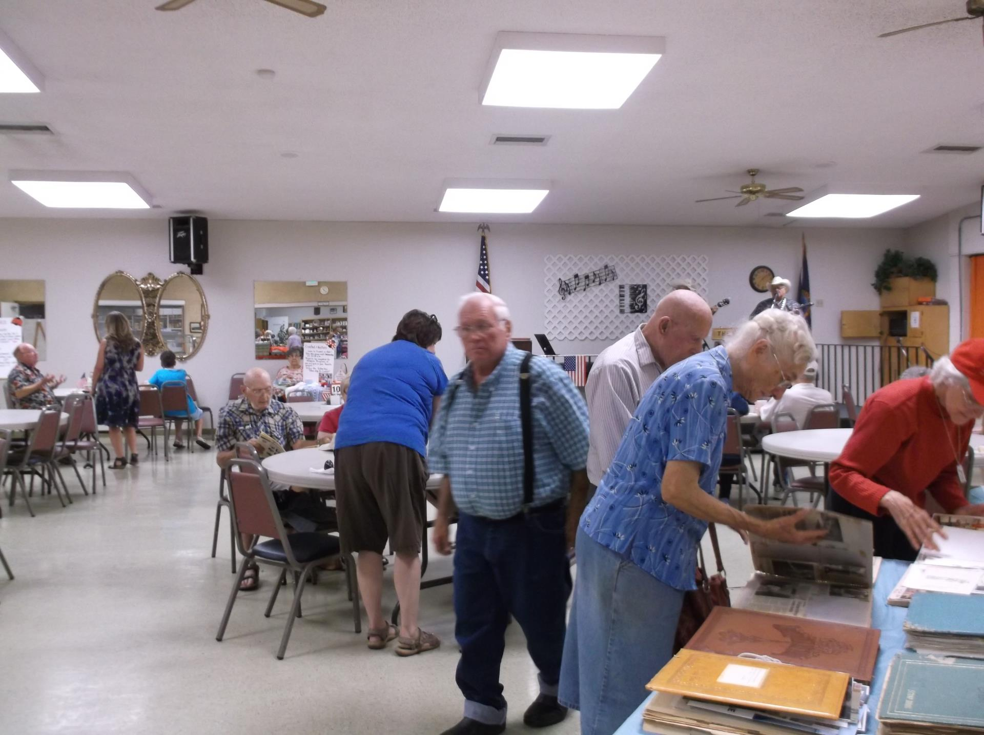 Midday at the Senior Center