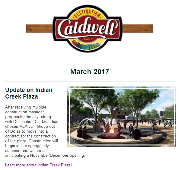 Indian Creek Plaza update