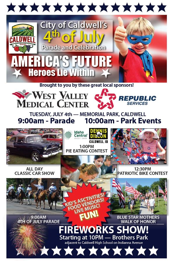 4th of July 2017 flyer