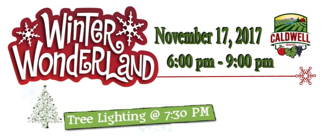 banner and tree lighting info