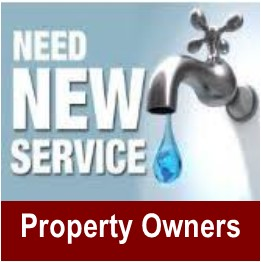 New water service - Property Owners