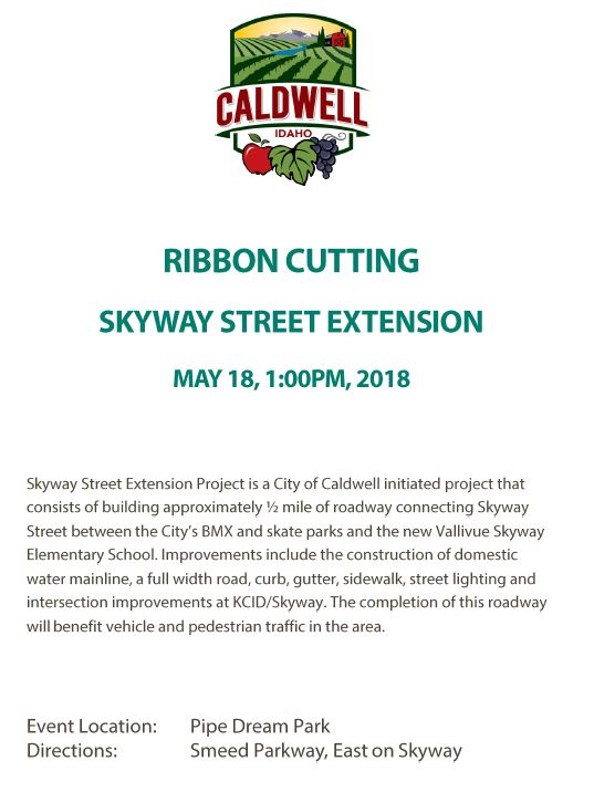 Skyway Extension Ribbon Cutting 5-18-18