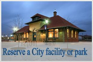 Reserve a City facility or park