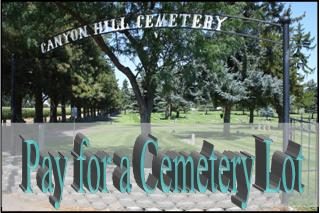 Pay for Cemetery Lot