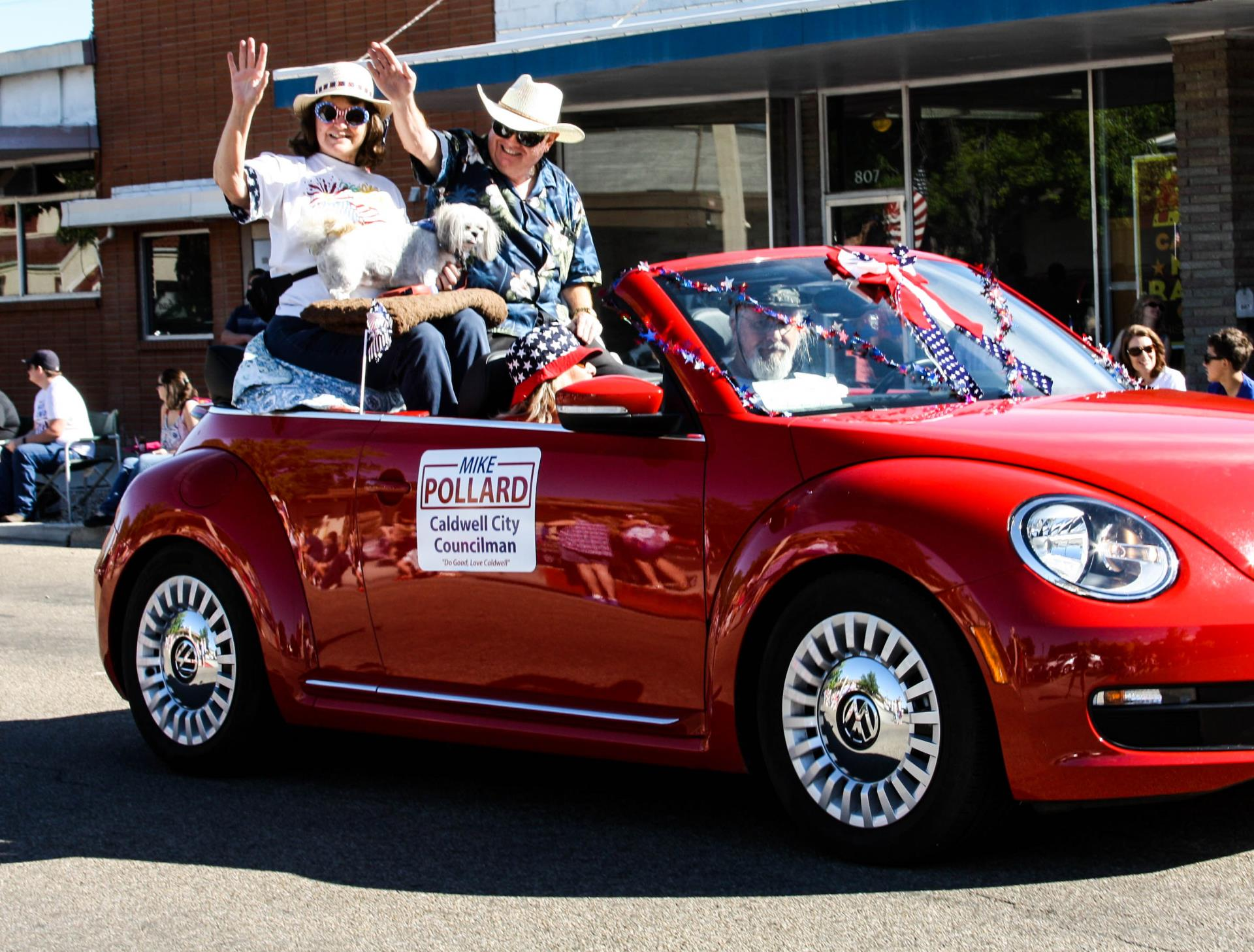 Mike Pollard 4th of July parade
