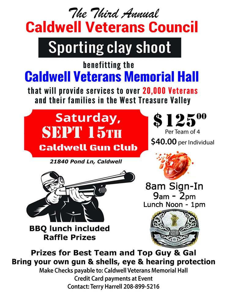 Sporting Clay Shoot -- fundraiser flyer
