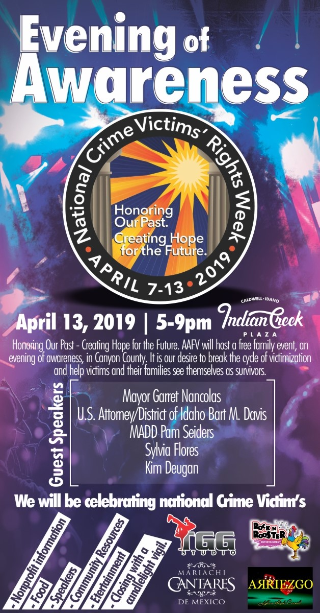 Evening of Awareness for Crime Victims 4-13-19