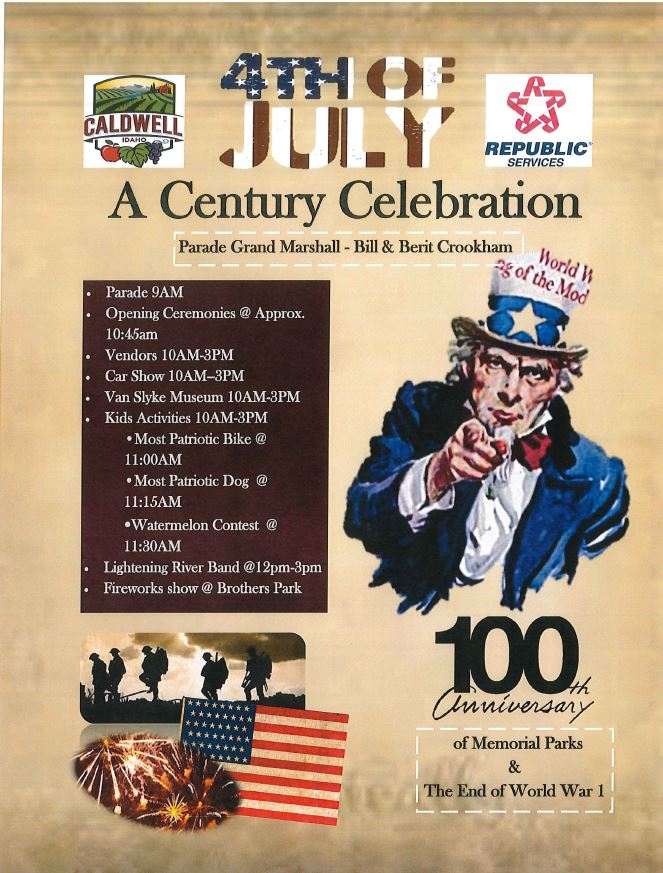 4th of July flyer - 7-4-2019
