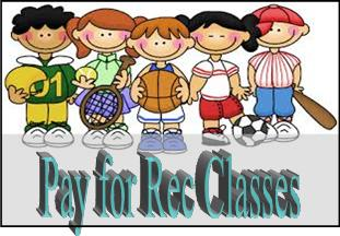 Pay for recreation classes