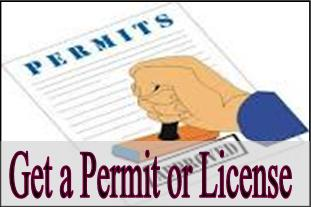 Get a Permit or License