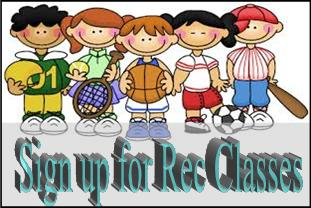 Sign up for Recreation Classes