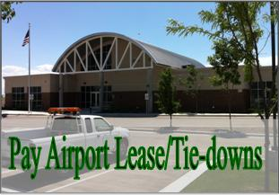 Pay Airport Lease/Tie-downs