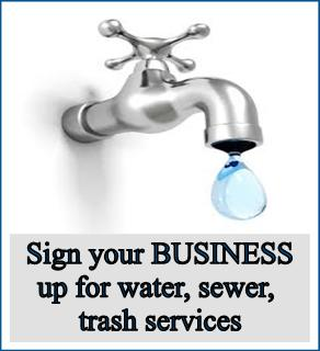 Business - water signup