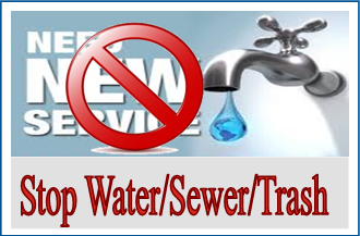 stop water sewer trash
