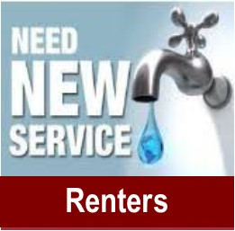 Icon -sign up for water services - renters
